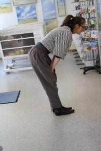 Hose ohne SChuhe